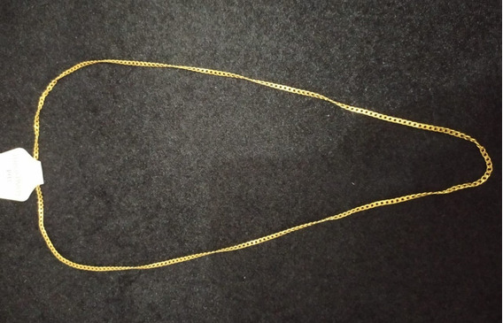 Cordão Banhado A Ouro De Aço Inoxidável 71cm