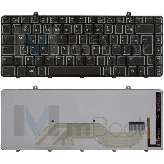 Teclado P/ Dell Alienware M11x R2 R3 C/ Iluminação