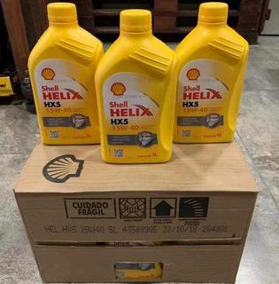 Aceite Shell Helix 20w50 Y 15w40 Mineral Mayor Y Detal