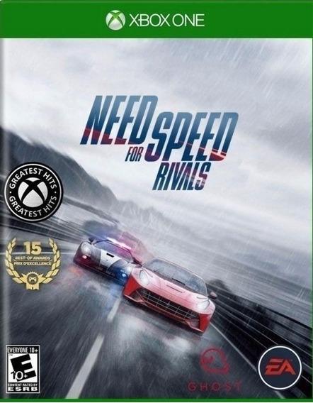 Need For Speed Rivais Xbox One Mídia Digital + 1 Jogo