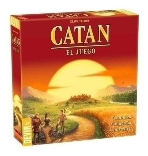 Imagen 1 de 4 de Juego De Mesa - Catan - Xion Store