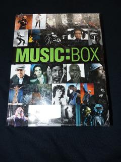 Music:box / Libro De Fotografìas De Rock Pop Reggae Jazz
