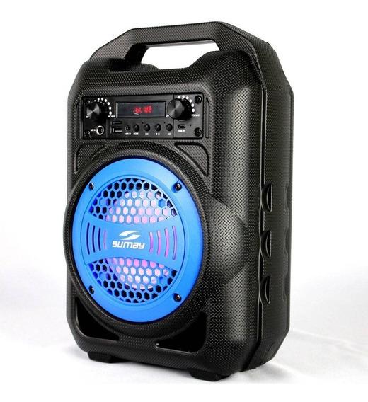 Caixa De Som Gallon Bluetooth Portátil Sumay