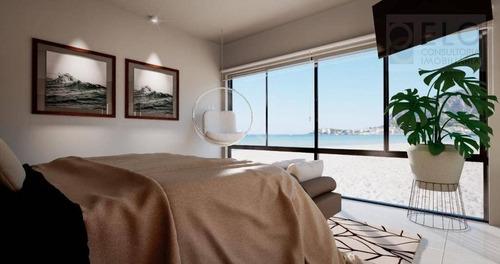 Casa Em Condominio Pé Na Areia Com 5 Suites, 420 M² Por R$ 18.000.000 - Baleia - São Sebastião/sp - So0007