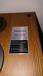 Par De Bafles Technics Sb K46