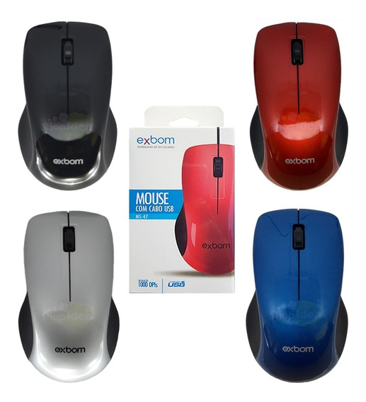 Kit 10 Mouse Optico Usb Gamer 1000dpi Revenda Atacado Barato