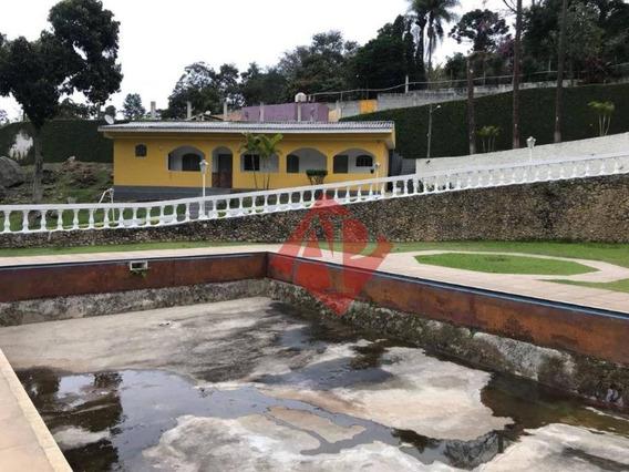 Chácara Com 2 Dormitórios À Venda, 12000 M² Por R$ 2.800.000 - Aldeia Da Serra - Santana De Parnaíba/sp - Ch0004