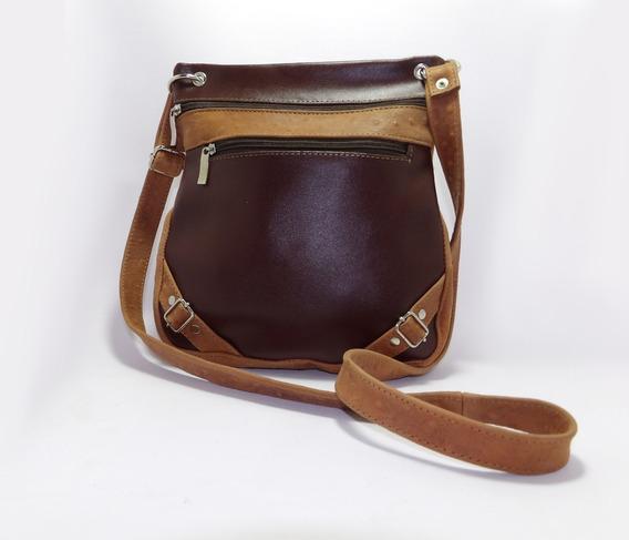 Bandolera De Cuero Combinadas -calzados Union- Art 250