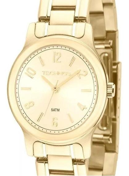 Relógio Technos Feminino Boutique 2035lry/4x Dourado Com Nf