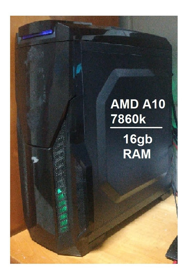 Pc Gamer Amd A10 Com 16gb Ram - Roda Tudo*