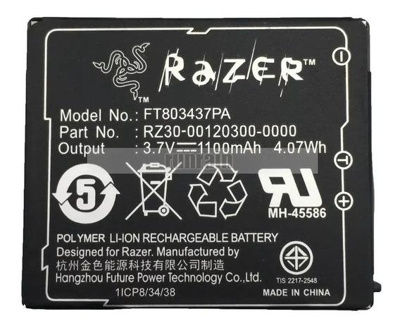 Bateria Mouse Razer Mamba Ft803437pa 1100mah 3.7v