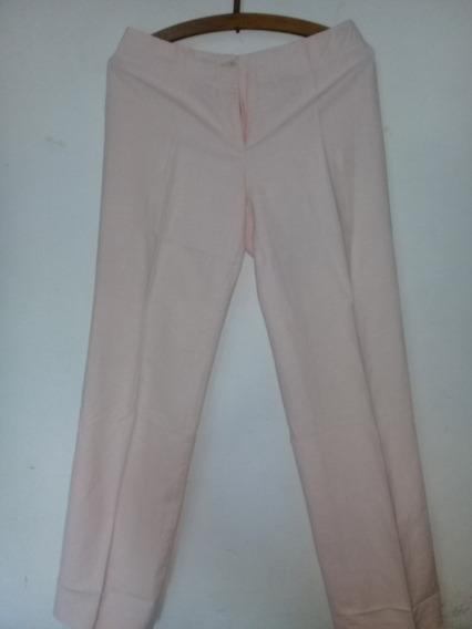 Pantalón De Lino Dama Talle 40 Sayen
