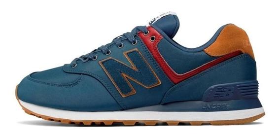 Zapatillas New Balance 574 Hombre - Azul