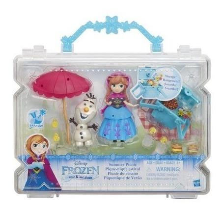 Frozen Little Kingdom Anna Picnic De Verano Maleta Hasbro