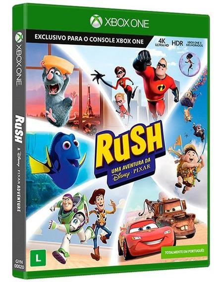 Rush - Uma Aventura Da Disney Pixar - Xbox One Mídia Física