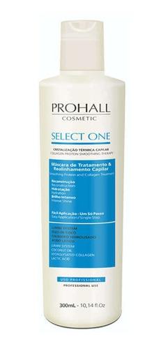 Imagem 1 de 1 de Prohall Select One Escova Progressiva Sem Formol - 300ml
