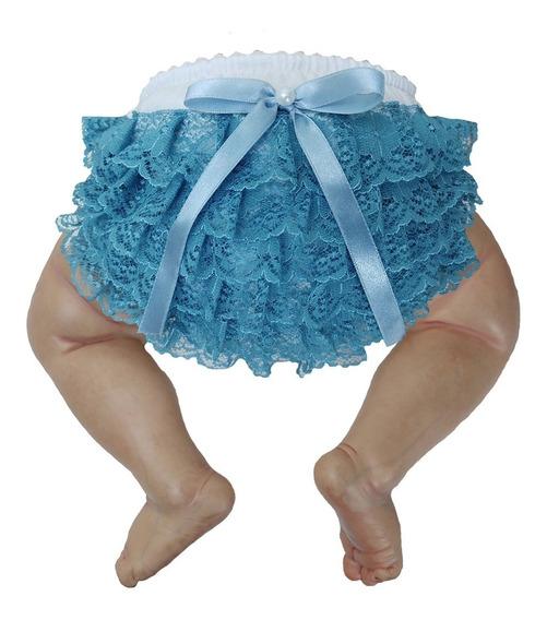 Roupa Bebê Menina Calcinha Bunda Rica 100% Algodão