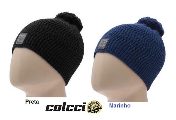 Touca Gorro Colcci Pompom Tricot Unisex - 100% Original