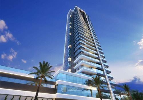 Apartamento 3 Suítes, Vaga Dupla, Meia Praia! - Ap0488-d-1