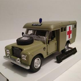 Miniatura Jeep Land Rover Série Iii Ambulância 1:43 - C