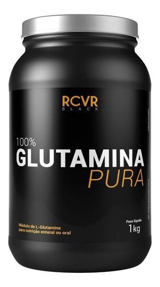 Glutamina Peptídeo 1kg- Recover Black