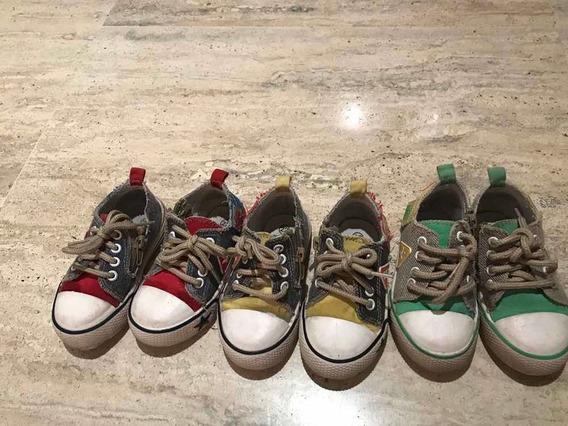 Zapatos Talla 22 Varón Tipo Converse Remate