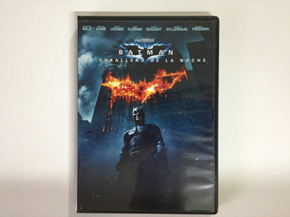 Dvd - Batman El Caballero De La Noche - The Dark Knight
