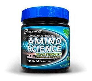 Bcaa Powder Amino Science 300g Melancia Performance