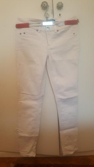 Pantalon De Jean Blanco De Kenneth Cole T 26 Mujer