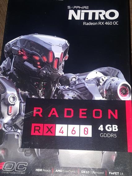 Sapphire Nitro Amd Radeon Rx 460 4gb Gddr 5 Placa De Video