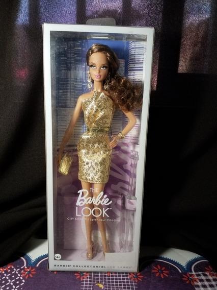 Boneca The Barbie Look® City Shine Dourado
