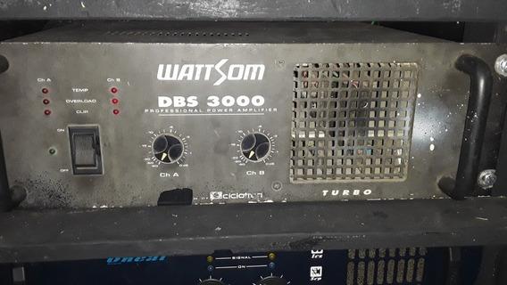 Amplificador Wattsom Dbs 3000