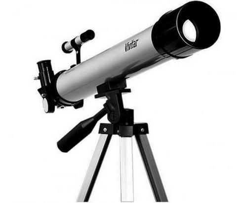 Telescópio De Refração 60x/120x Lente Ocular Vivtel50600