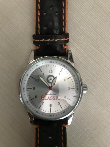 Relógio Mercedes-benz Classic - Quartz - Pulseira Em Couro