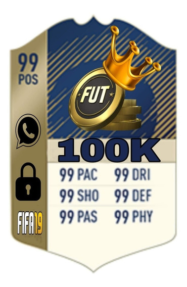 100 Mil Coins Fifa 19 Ps4
