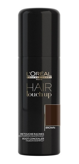 Retocador Temporal Raíces Hair Touch Up Castaño 75ml L