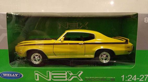 Buick Gsx 1970 Amarillo 1:24 Welly Milouhobbies A2482
