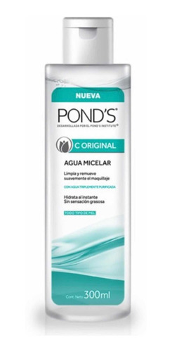 Agua Micelar Ponds C Original 300 Ml