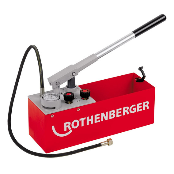 Bomba De Teste Hidrostático Rothenberger Rp50 60200