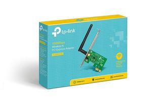 Placa De Red Tplink Wl-wn781nd Pci-e Wi Fi 150 Mbps