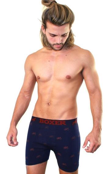 Boxer Original Underwear - Algodón Lycra Premium - Pack X 4 Surtidos!