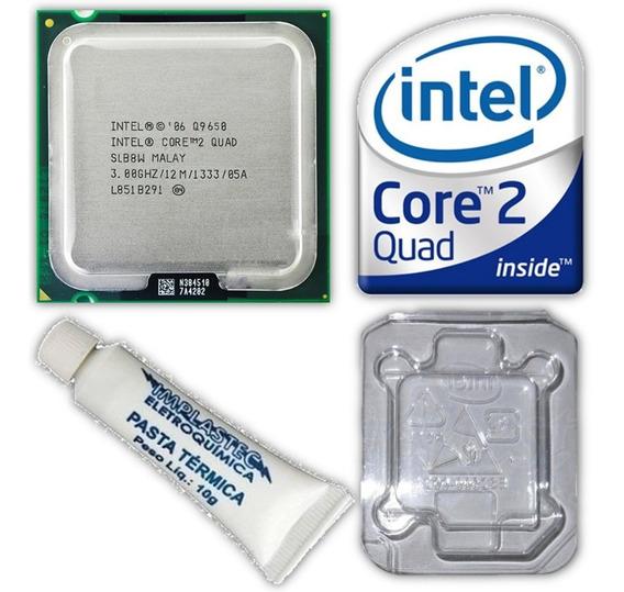 Processador Intel Core 2 Quad Q9650 12mb 1333mhz Lga775 Top