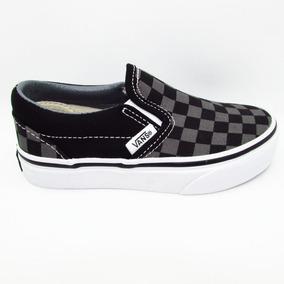 Tenis Vans Classic Slip On Vn000zbueo0 Checkerboard Black Pe
