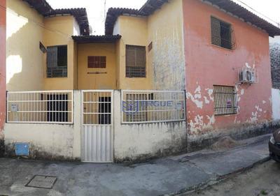 Casa Com 2 Dormitórios Para Alugar, 70 M² Por R$ 550/mês - Prefeito José Walter - Fortaleza/ce - Ca0718