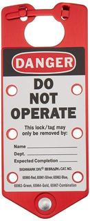 Candado Para Bloqueo Danger Do Not Operate 65960 Brady