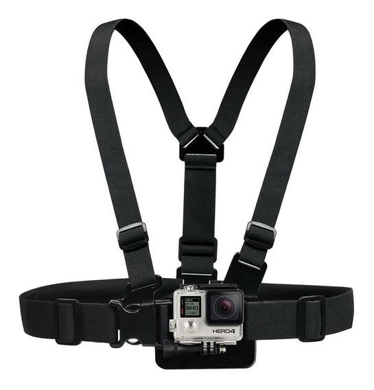 Suporte Peito Para Câmeras Go Pro 3/4/5/6/7 Xiaomi Yi Action