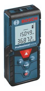 Telemetro Medidor Laser Cinta Metrica Digital Bosch Glm 40 M