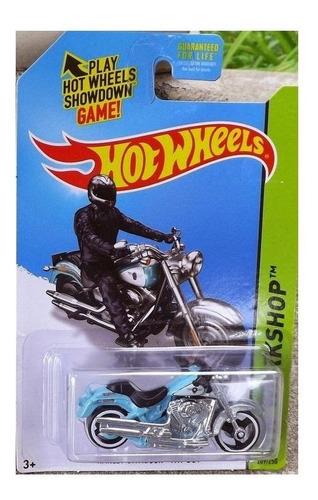 Imagen 1 de 2 de Moto Harley Davidson Escala 7cm Coleccion Hot Wheels B1