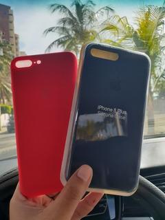 Forros De Silicon. Silicona Case Para iPhone 7 Plus Y 8 Plus