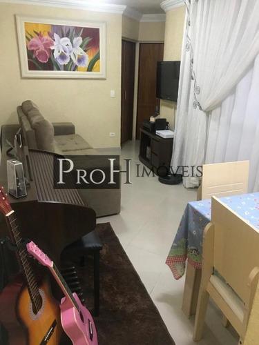Imagem 1 de 15 de Apartamento Para Venda Em Santo André, Vila Príncipe De Gales, 2 Dormitórios, 1 Banheiro, 1 Vaga - Pringalta